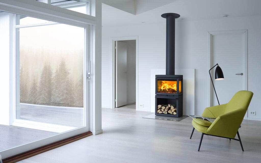 Jotul stufe a legna, il riscaldamento secondo il metodo norvegese