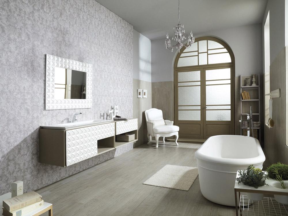 ... Bagno : Bagno Piastrelle O Pittura: Idee rivestimento bagno per