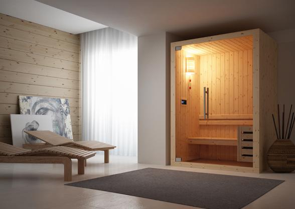 Grandform Sauna Saune Smart Level Project 1510