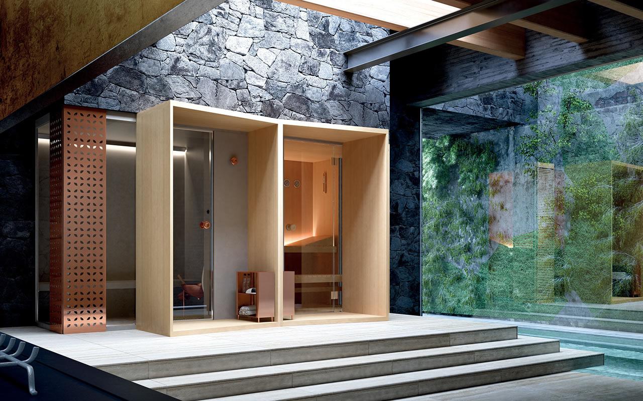 Come Fare Sauna E Bagno Turco #1664  msyte.com Idee e foto di ispirazione per la tua idea ...