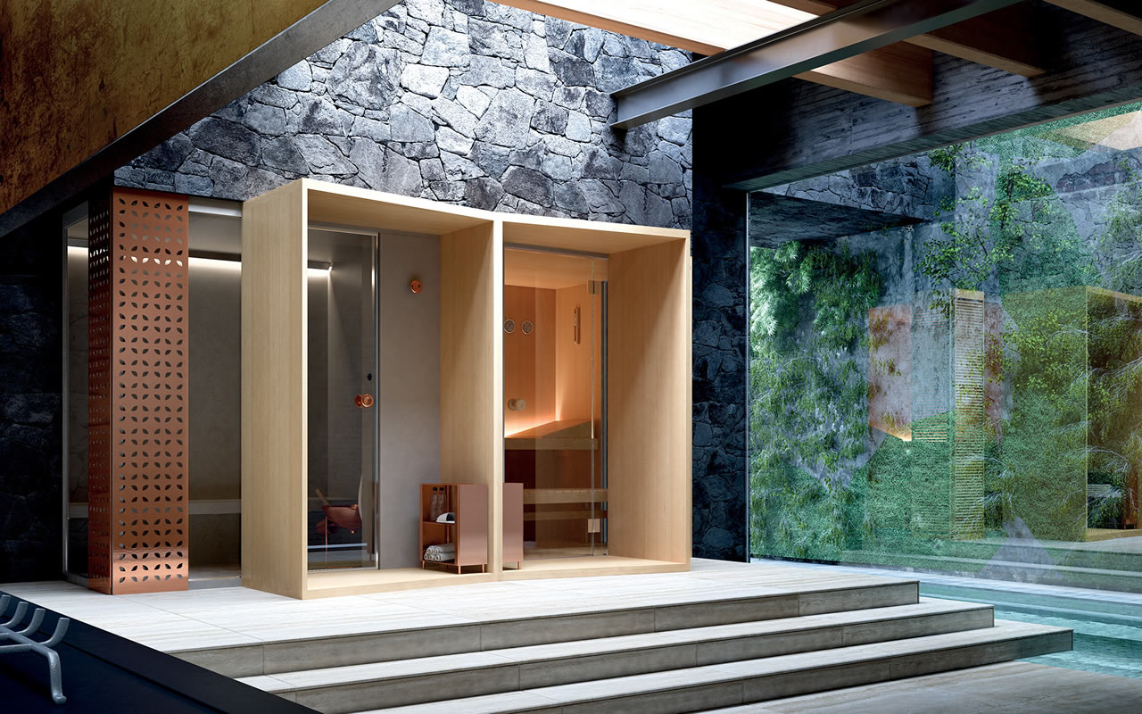 Immagine 01 bagno turco e sauna euroedil