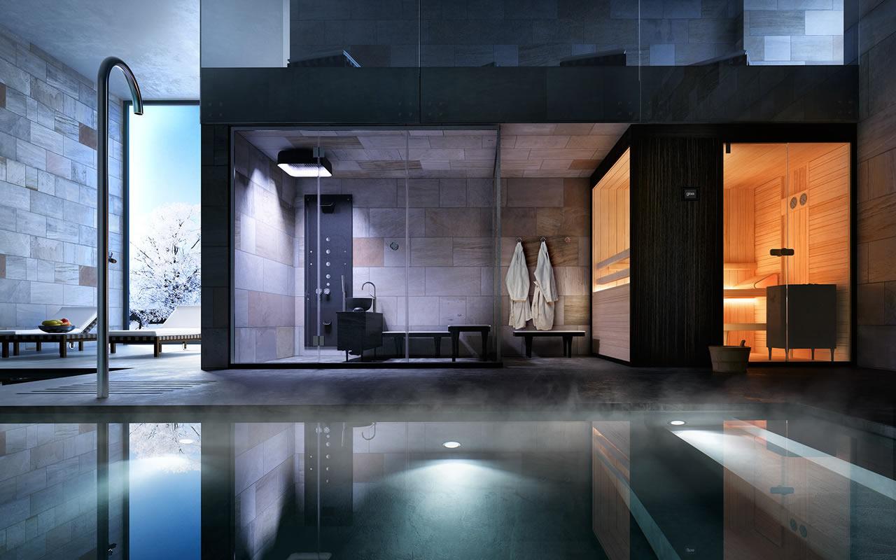 Immagine 13 bagno turco e sauna euroedil