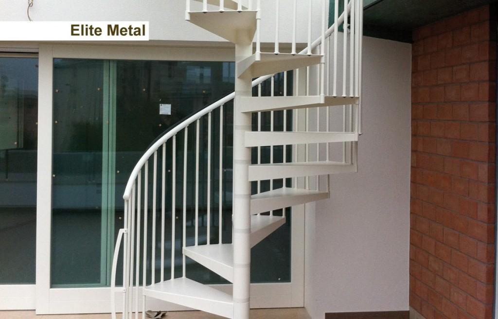 Novalinea Scala a chiocciola Modello ELITE METAL proposta 1