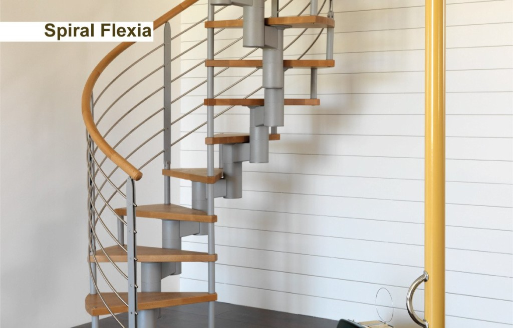 Novalinea Scala a chiocciola Modello SPIRAL FLEXIA proposta 1
