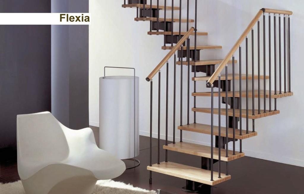 Novalinea scala a giorno modello LINEA FLEXIA