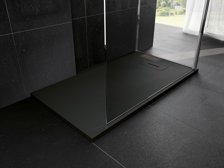 Piatti doccia vari in ceramica acrilico corian o effetto - Piatto doccia 140x90 ...