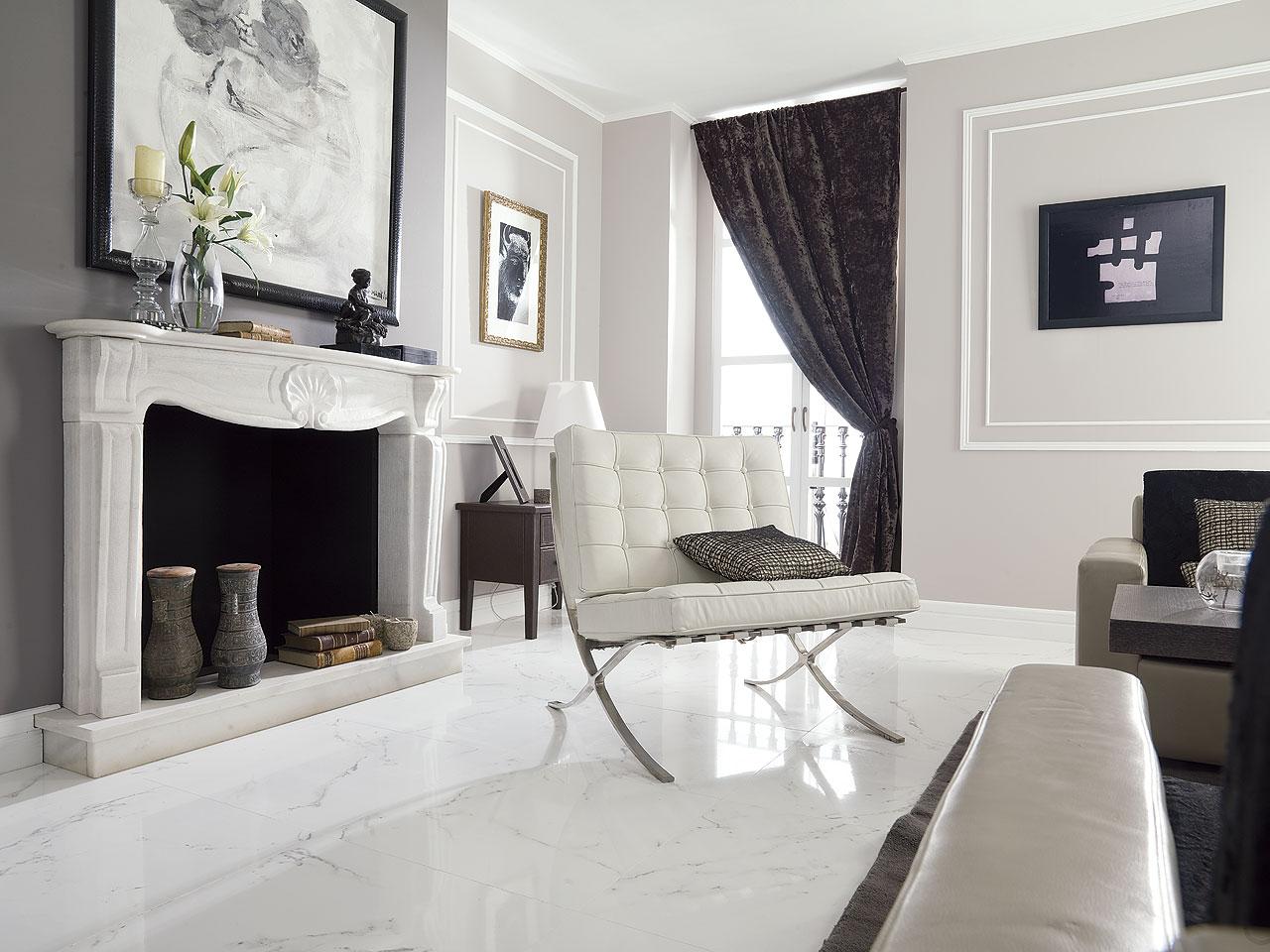 Pavimenti Porcelanosa slide Carrara Brillo 59,6x59,6 H