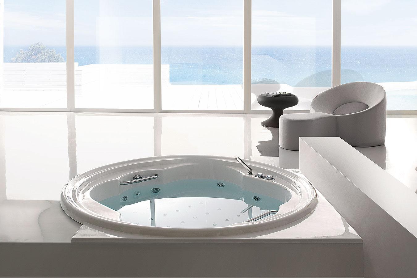Misura Vasca Da Bagno: Vasca da bagno su misura in corian andreoli. Misure vasca da bagno ...