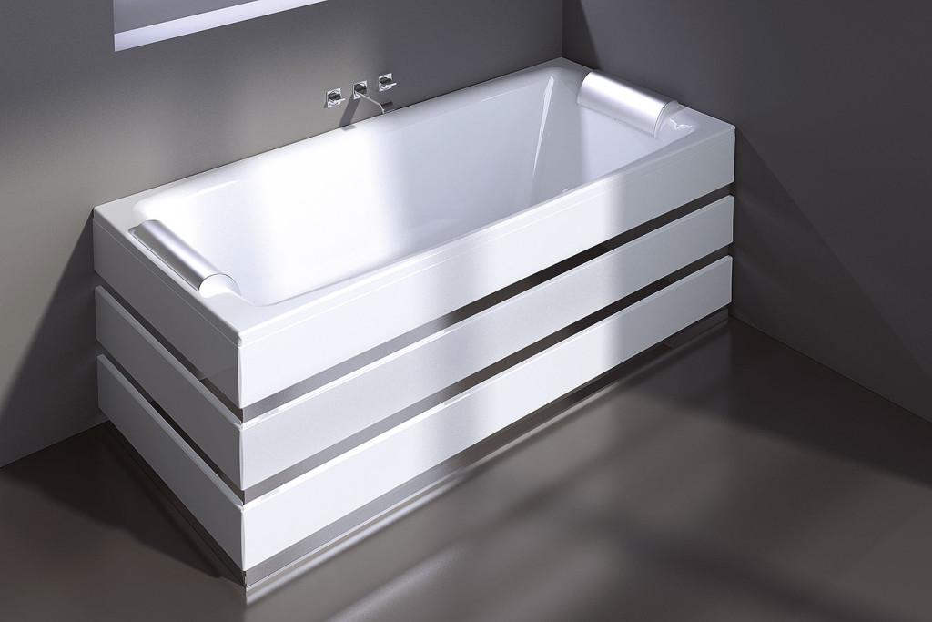 treesse vasca da bagno modello crystal line misura