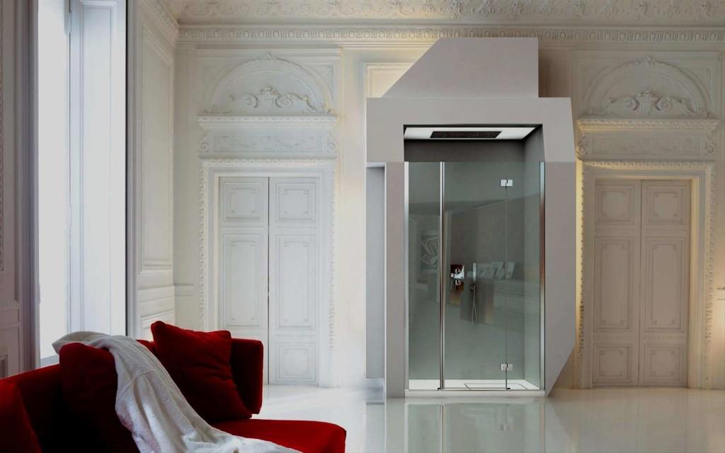 Box doccia vismara vetro vasta esposizione da euroedil - Box doccia colorati ...