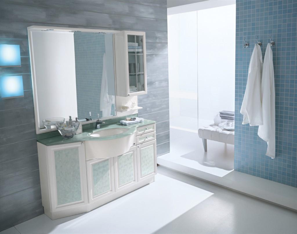 Idee Arredo Bagno Vintage : Idee arredamento bagno. mobili bagno con lavatrice con beautiful