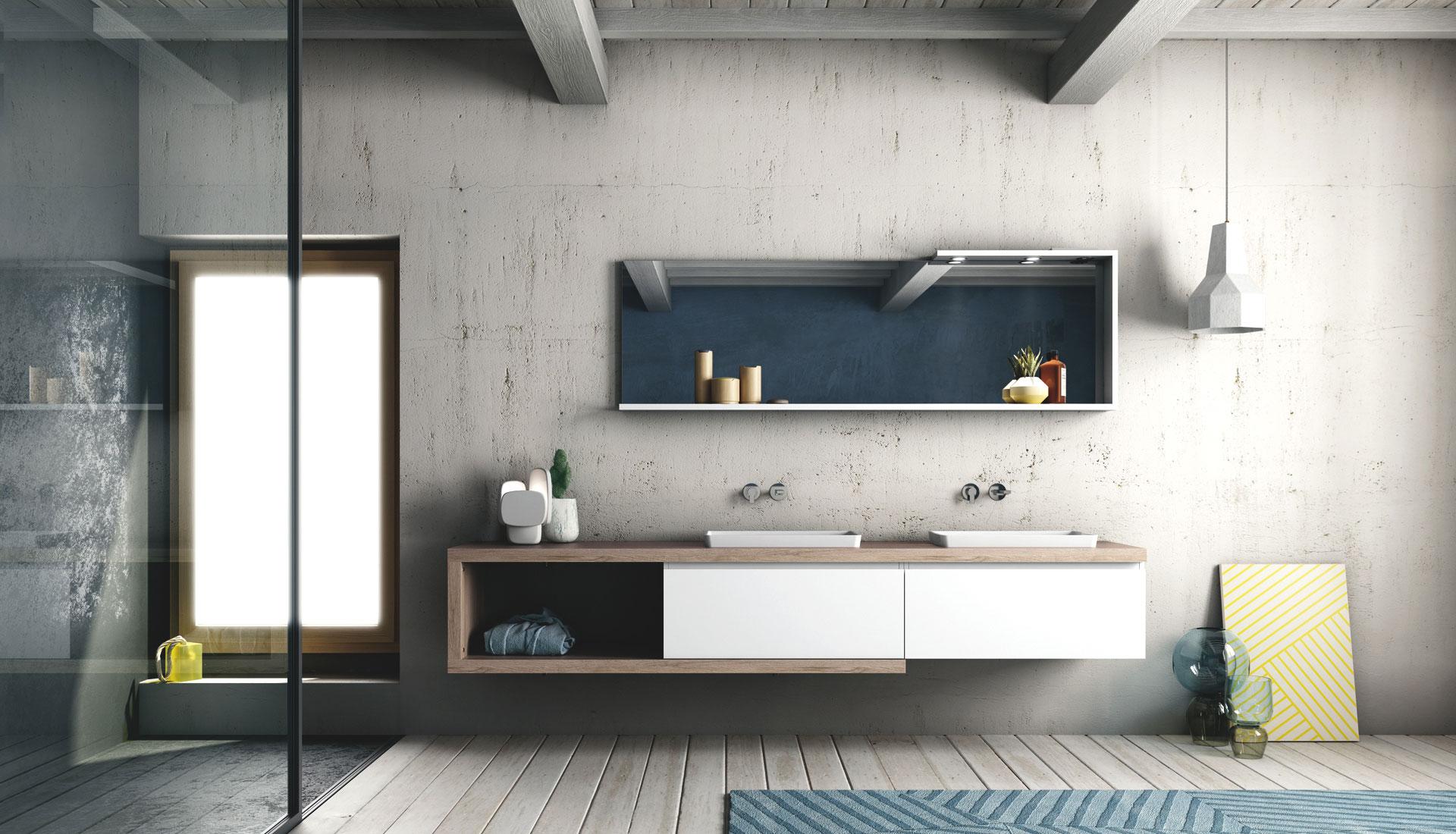 Punto Tre. Mobili di qualità per il Vostro Bagno | Euroedil