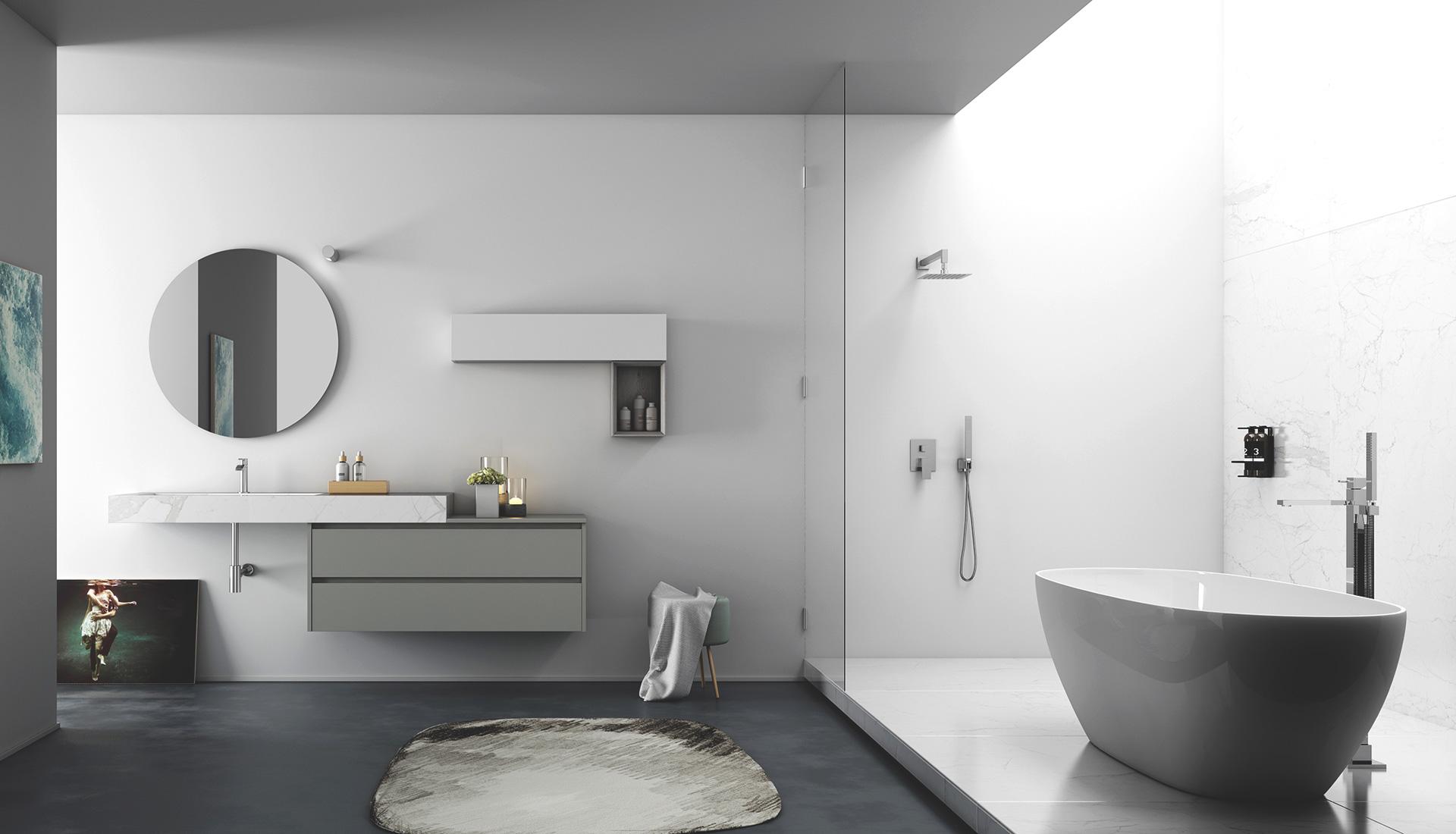mattonelle per bagno moderno. bagni piccoli piastrelle foto bagni ... - Decori Per Bagni Moderni